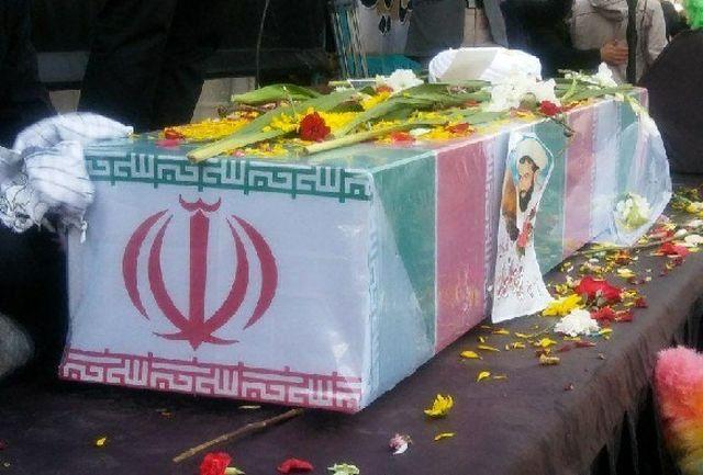 """مراسم تشییع شهید مدافع حرم """"مجید سلمانیان"""" برگزار شد"""