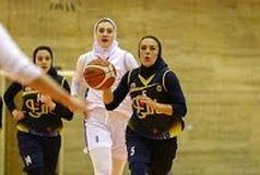 دو بانوی قزوینی در اردوی تیم ملی بسکتبال بانوان ایران