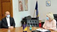 مقام های پارلمان بوسنی و هرزگوین بر پیشبرد روابط با ایران تاکید کردند
