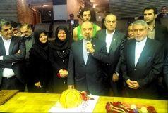 جشن تولد سلطانیفر در اردوی تیم ملی بسکتبال
