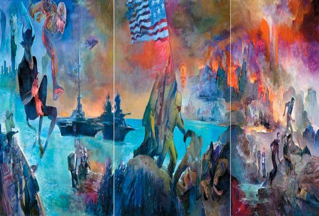 نقش «جنایت علیه بشریت» در رواق فرهنگستان هنر رونمایی می شود