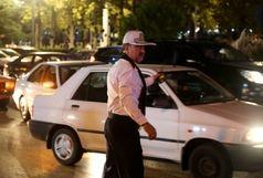 تسهیل عبور و مرور  برای شهروندان تهرانی در شام غریبان امام حسین (ع) توسط پلیس راهور بزرگ / ببینید