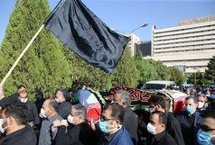 پیکر شهدای حادثه تروریستی نیکشهر در زاهدان تشییع شد