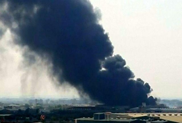 """پنج راکت به پایگاه هوایی """"البلد"""" در شمال بغداد اصابت کرد"""