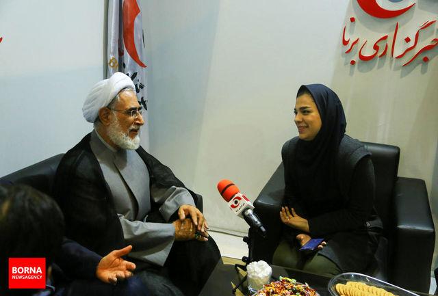 سخنان حجت الاسلام منتجب نیا در غرفه خبرگزاری برنا/ ببینید