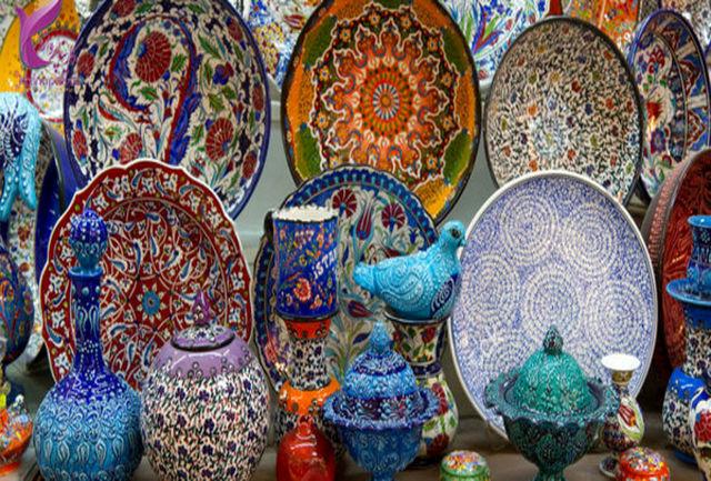 صادرات بیش از یک میلیون دلار صنایع دستی به عراق