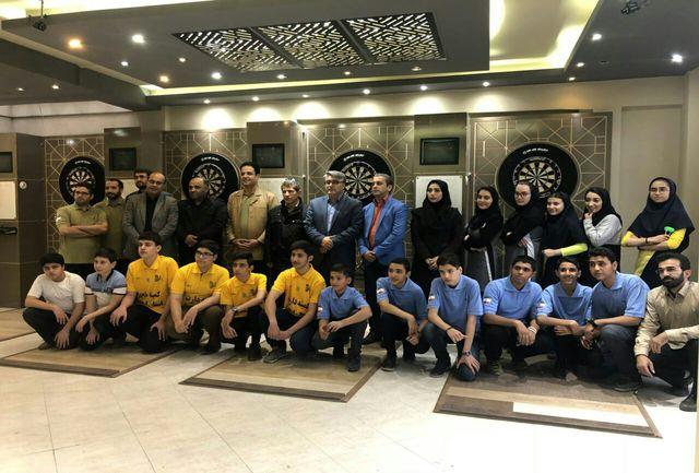 اردوی آماده سازی تیم ملی جوانان دارت در اردبیل برگزار شد