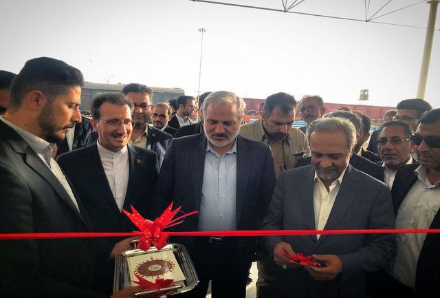 فاز یک ایستگاه راه آهن زاهدان افتتاح شد