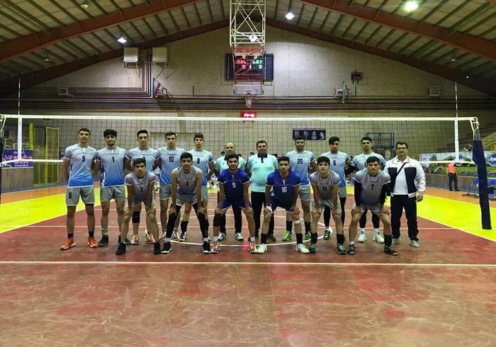 آذربایجان غربی عنوان سوم والیبال جوانان کشور در بخش پسران را کسب کرد