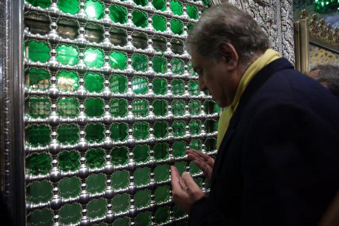 تشرف وزیر امور خارجه پاکستان به حرم رضوی