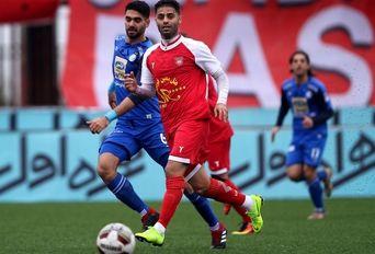 در حاشیه تیم های فوتبال سپیدرود رشت- استقلال