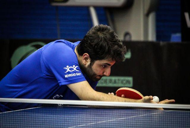 """هدف ما کسب عنوان قهرمانی است/""""شهرداری کرج"""" یک شگفتی در تنیس روی میز  است"""