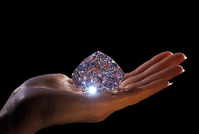 خاص و منحصربفردترین الماس دنیا در ایران/ ببینید