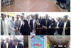 افتتاح سالن چند منظوره ورزشی روستای چاه شور شهرستان دلگان
