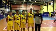 تیم خوزستان قهرمان مسابقات بسکتبال 3×3 المپیاد استعدادهای برتر کشور شد