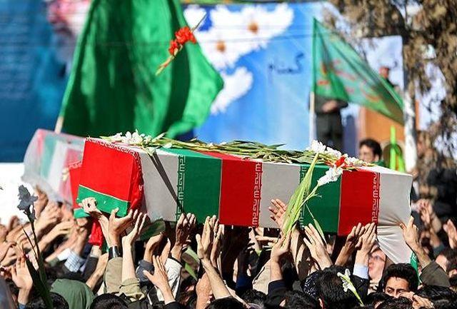 خاکسپاری 62 شهید بی نشان در 29 یادمان