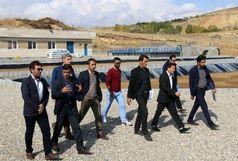 دومین تصفیهخانه فاضلاب روستایی آذربایجانغربی در تکاب آماده بهرهبرداری شد