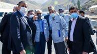 بزرگترین تونل خاورمیانه در آستانه افتتاح/احداث قطعه دوم آزادراه تهران - شمال سرعت گرفت