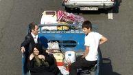 ممنوعیت جابجایی مسافر با وسایل نقلیه باربری