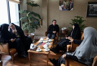 دیدار تنی چند از نمایندگان مجلس شورای اسلامی با معاون ساماندهی امورجوانان وزارت ورزش و جوانان