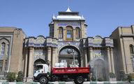 عملیات ضدعفونی محدوده مرکزی تهران