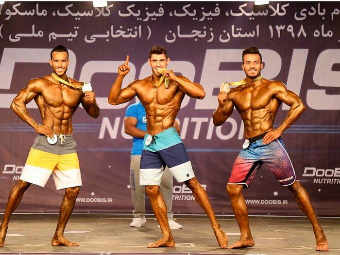 درخشش ورزشکاران گیلانی در رقابتهای پرورش اندام انتخابی تیم ملی