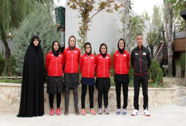 دختران تیم تنیس زیر 12 سال راهی قزاقستان شدند