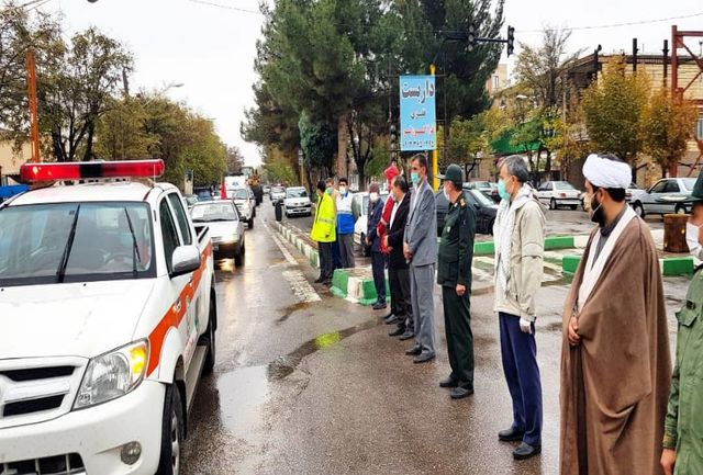 مصوبات ستاد کرونا در شهرستان بویین زهرا اجرایی شده است