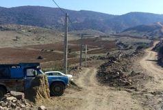 روستای کوهستانی و صعب العبور «کمر رود» در طارم سفلی قزوین برقدار شد