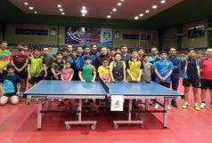 نفرات برتر تنیس روی میز جام فجر در قزوین مشخص شدند