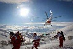 نجات دو کوهنورد در ارتفاعات شاهوار