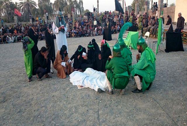 برگزاری مراسم تعزیه خوانی در شهرستان رودان