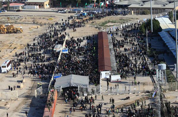افزایش ۲۴۰ درصدی خروج زائران از مرز مهران