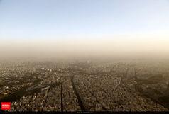 هشدار! هوای تهران در مرز آلودگی