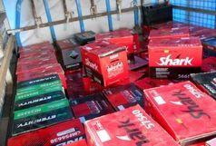 کشف 200 میلیونی باطری قاچاق در رودسر