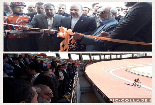 سلطانیفر پیست دوچرخهسواری خاتم الانبیا کرمان را افتتاح کرد