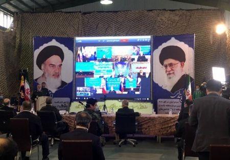 ارتباط ویدئو کنفرانسی لاریجانی با ۱۰ قرارگاه نیروی زمینی سپاه
