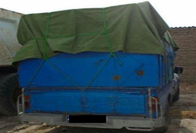 توقیف محموله 500 میلیون ریالی قاچاق در ملارد