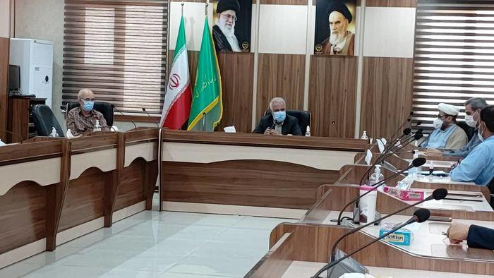 برگزاری نشست شورای معاونین سازمان جهادکشاوزری هرمزگان