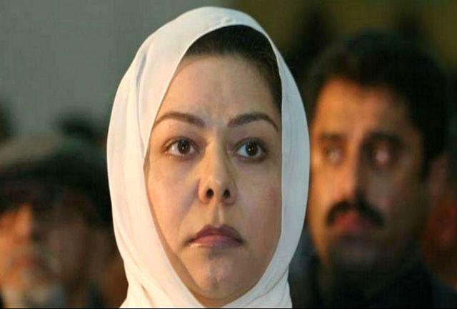 دختر صدام سکوتش را شکست