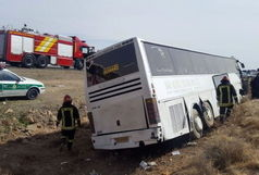 تصادف 2 اتوبوس زائران پاکستانی در حمیل