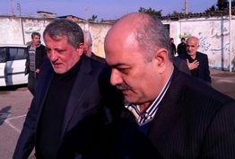 حضور محسن هاشمی در مجلس ترحیم دریانورد قائمشهری/ ببینید