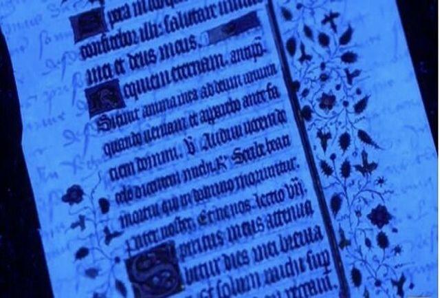 کشف پیام مخفی پشت نسخه خطی قرن ۱۵