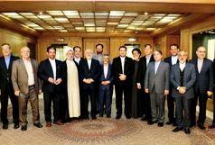 اعضای کمیسیون امنیت ملی با ظریف دیدار کردند