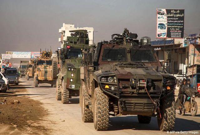 ترکیه مواضع نظامی دولت سوریه را هدف قرار داد