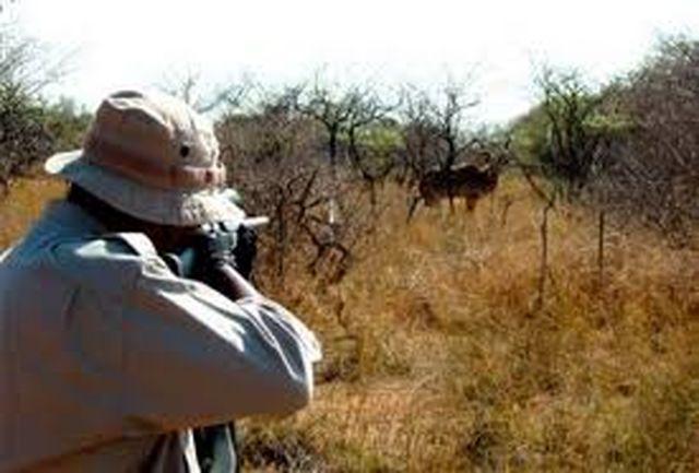 دستگیری شکارچی متخلف در زاهدان