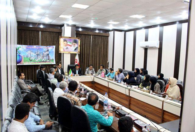 برگزاری جلسه کارگروه مدیریت پسماند در شهرستان پارسیان