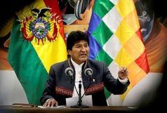 مورالس بولیوی را ترک کرد