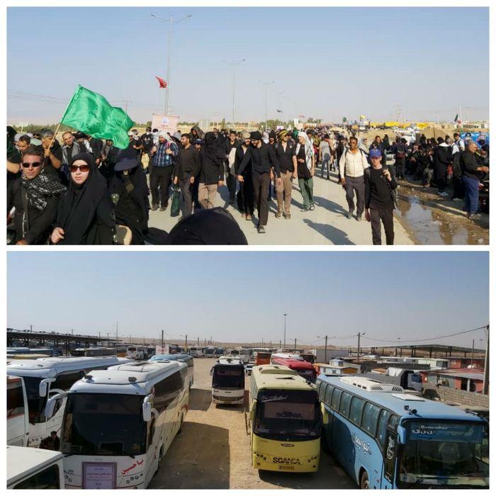  تردد 290 هزار زائر اربعین از مرز مهران