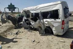 تصادف مرگبار ۴ خودرو در چابهار